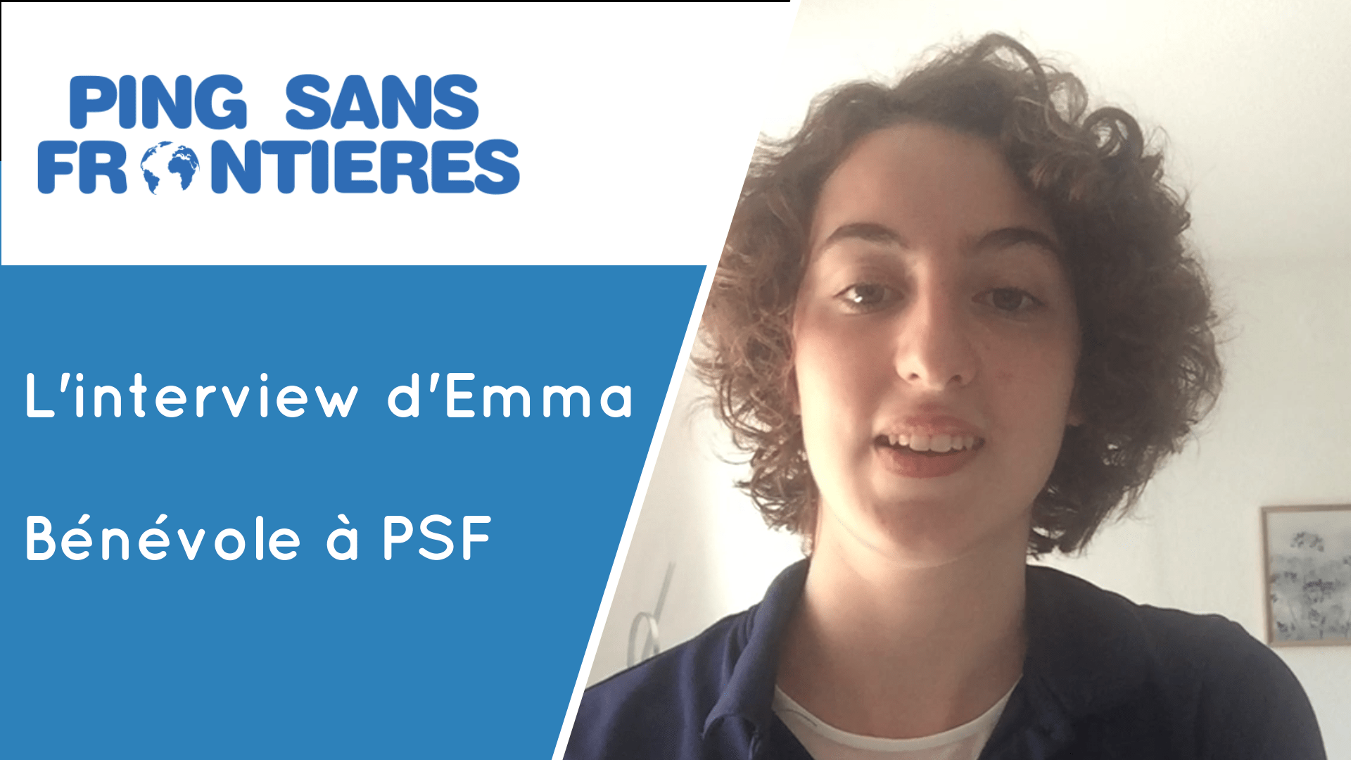 Emma's impression of her internship performed within PSF.