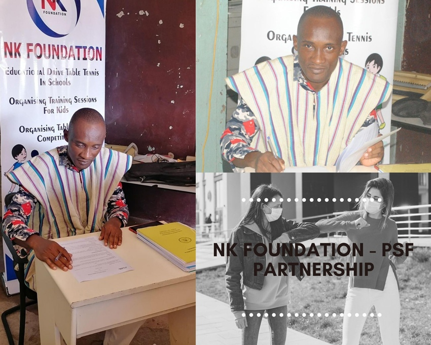Protocole d'accord PSF et la ville de Takoradi au Ghana