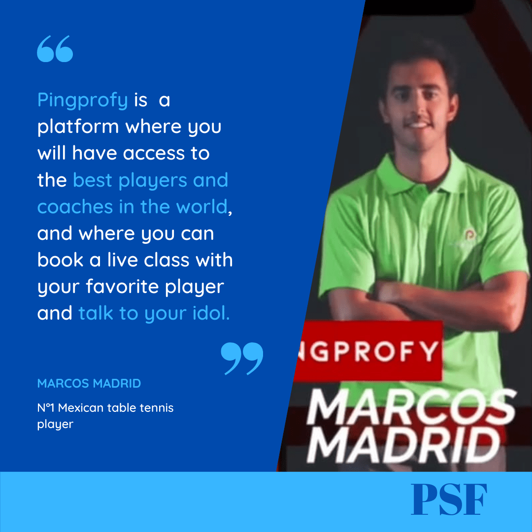 Félicitation à notre Ambassadeur Marcos Madrid !
