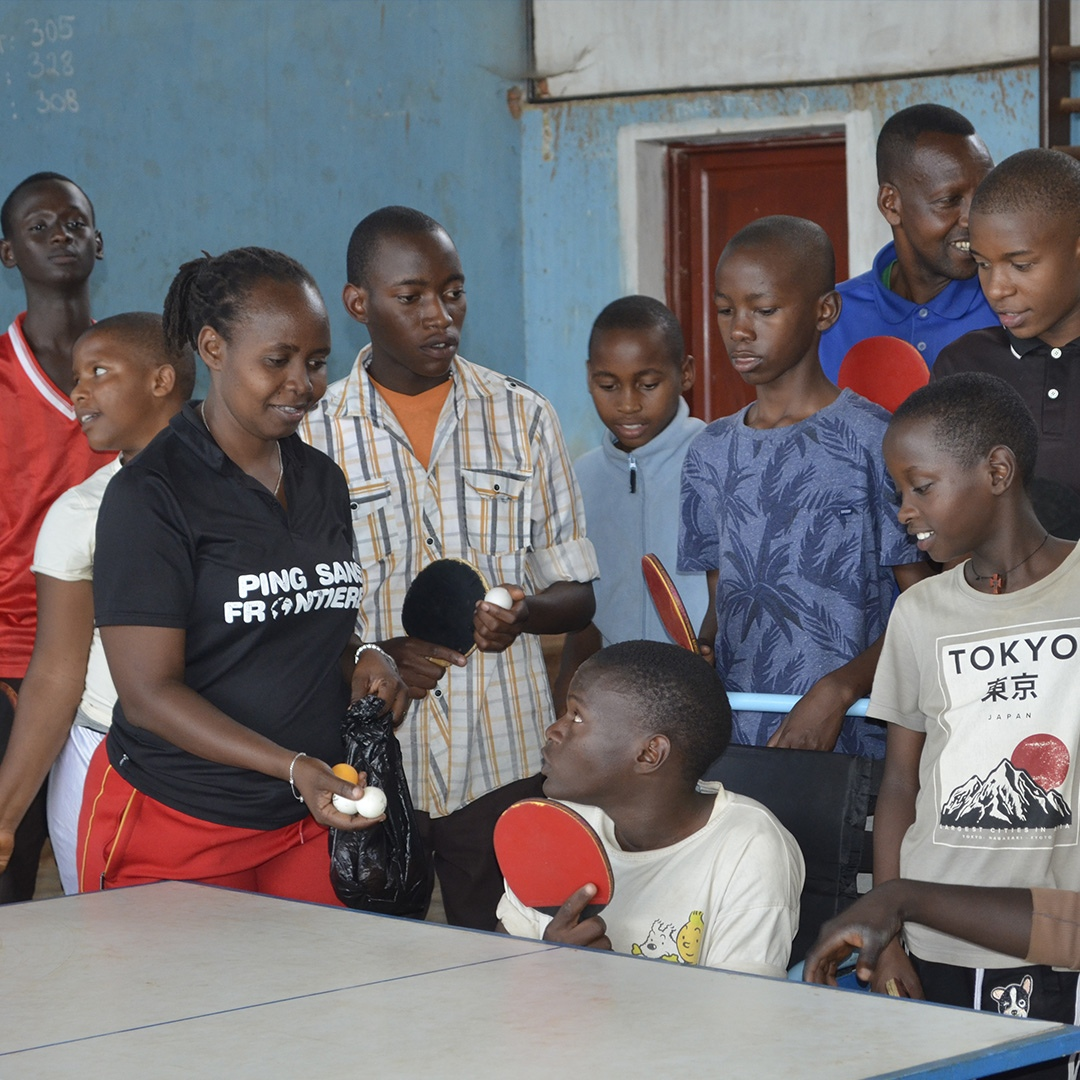 Les entrainements se poursuivent au Burundi !