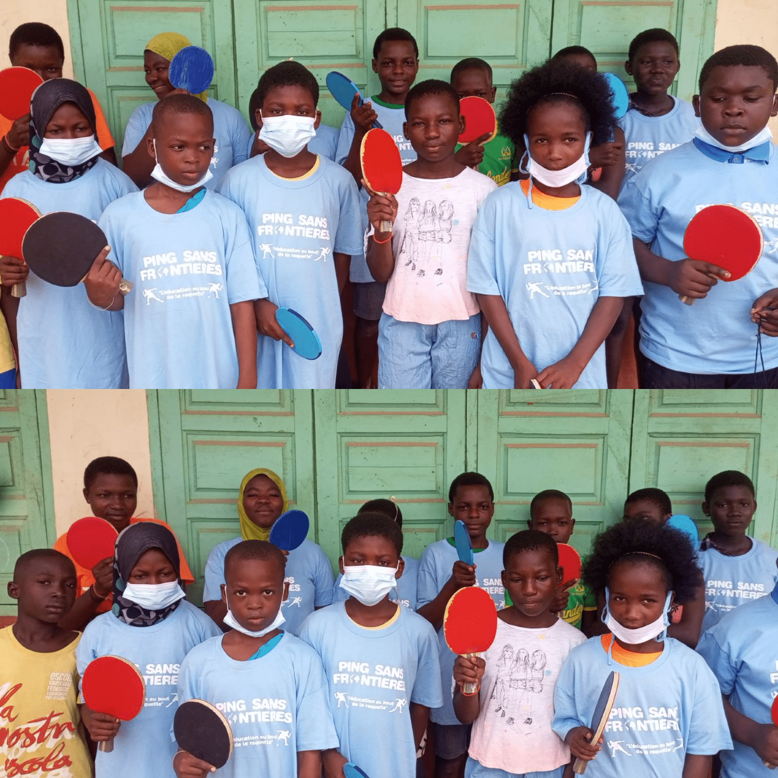 Edudrive kids are still following their training sessions in Ghana.